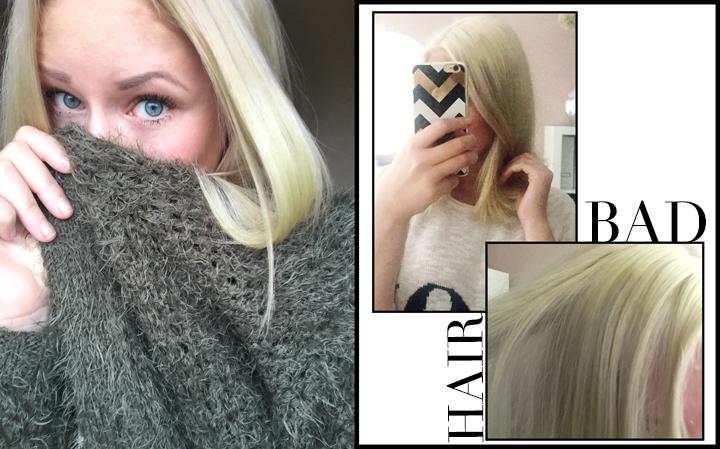 Haare nach blonden strahnen trocken