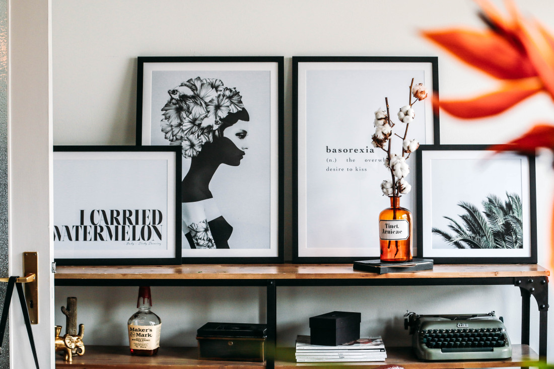 roomtour: meet my new living room - lina mallon