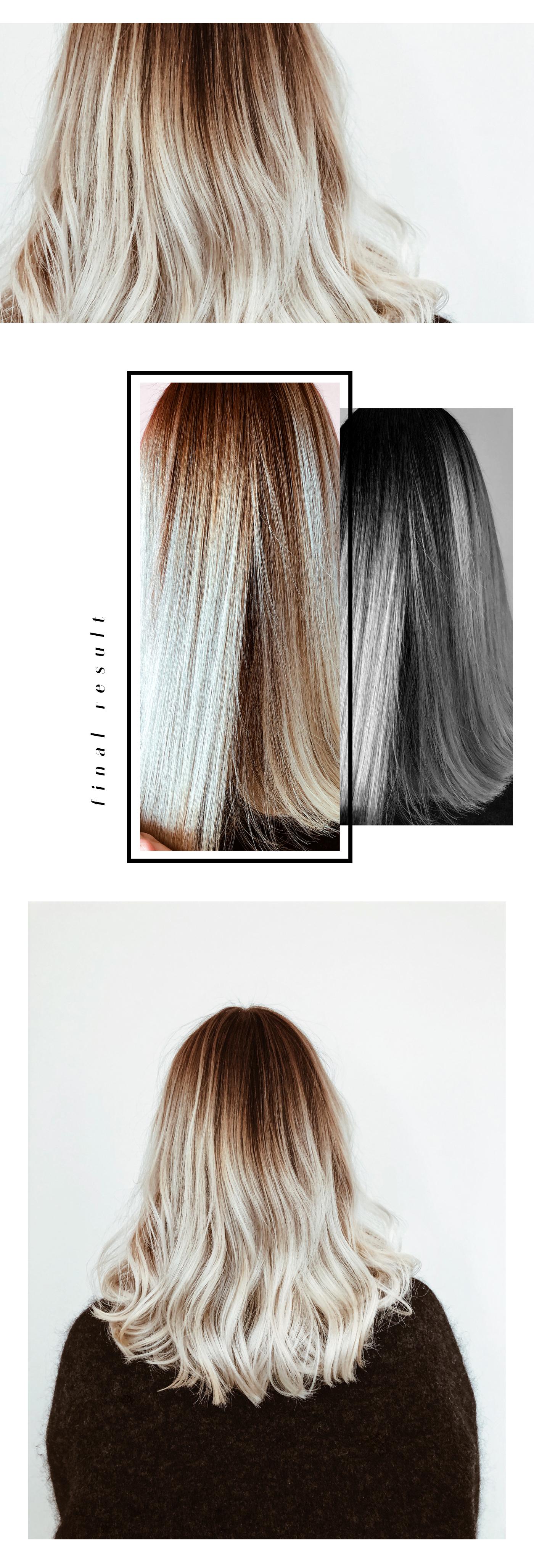 Blond verlauf braun Blond, Braun,